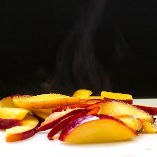 Simple Nectarine Crepe for Breakfast or Dessert