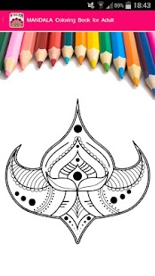 Tải Game Mandala Coloring for Adults