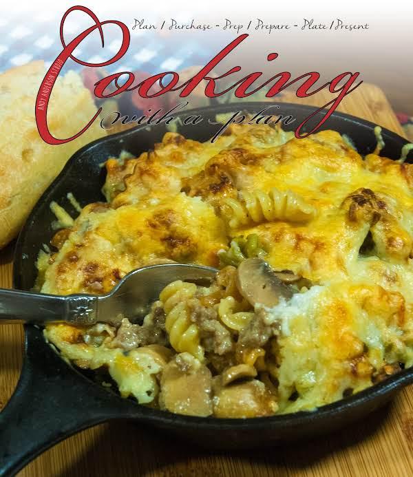 Skillet-baked Pasta & Sausage Recipe