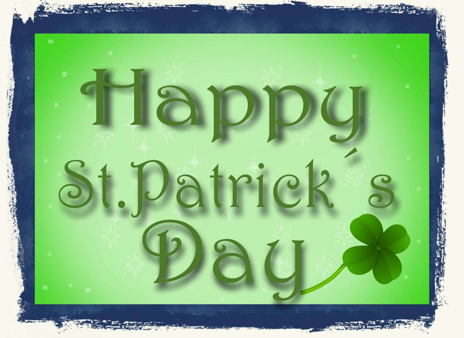 ... St. Patrick's Day ...