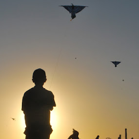 playing kites by Muhamad Ezza Setiawan - News & Events World Events
