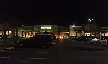 Photo: Super WalMart parking lot - always busy!