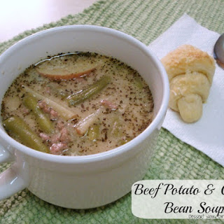 Beef Potato & Green Bean Soup