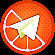 تلگرام پرتقالی ( ضد فیلتر - حالت روح )