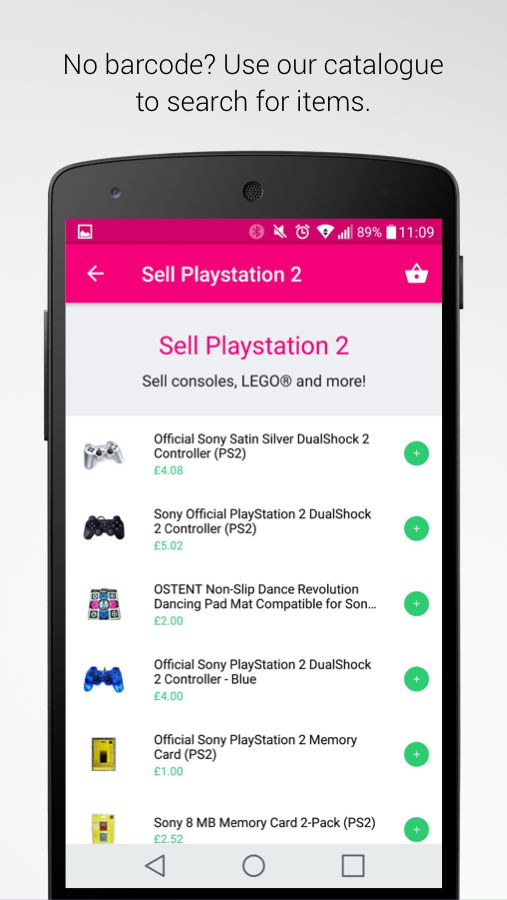WeBuyGames:Sell Items for Cash- screenshot