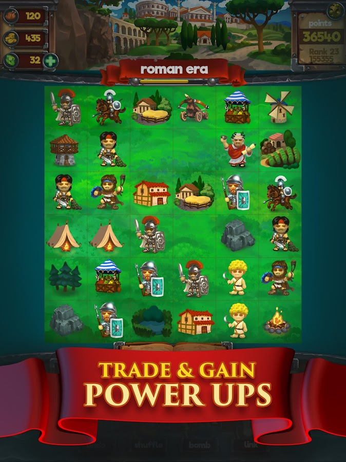 Grow Empires - Strategic Match 3 Puzzle- screenshot