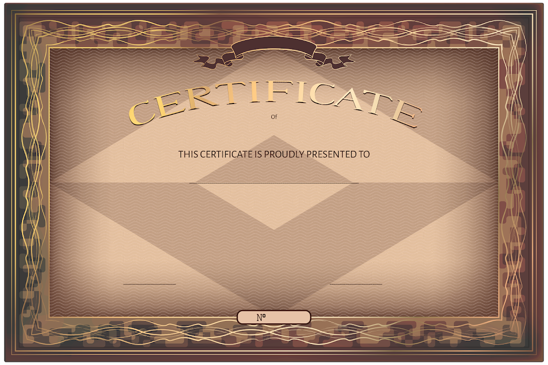 Brown Luxury Certificate Template UCO-tAV4I8fkAvmJP8E2