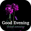 Good evening wishes greeting quotes images GIFs icon