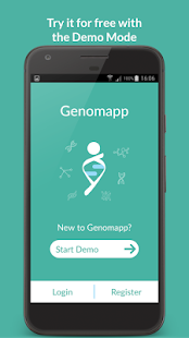 Genomapp. Squeeze your DNA- screenshot thumbnail