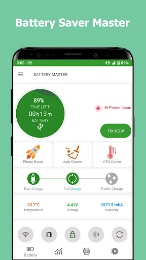 Battery Master Fast charging Saver Phone Cleaner screenshot 1