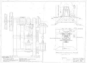 Photo: LIV 26, Styremaskine Fremad II,  (o.a. skibets hastighed: ca 11 knob),  14 januari 1921