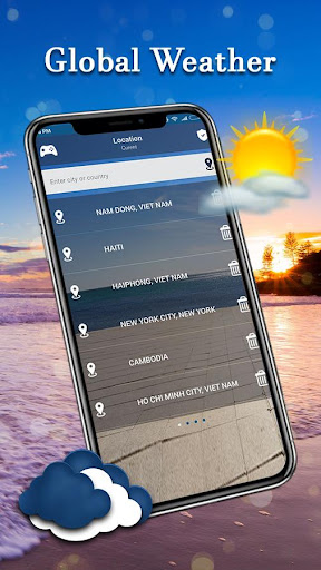 Daily Weather - Live Forecast Free 1.3 screenshots 6