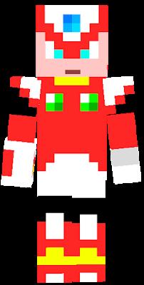 megaman zero   Nova Skin