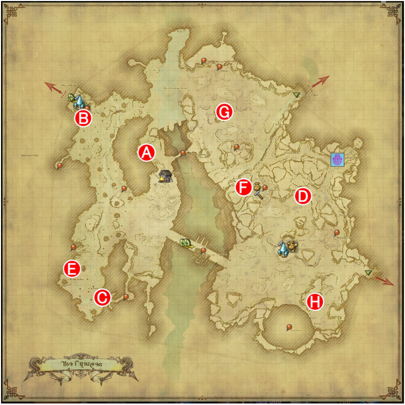 How To Get Maps Ff14