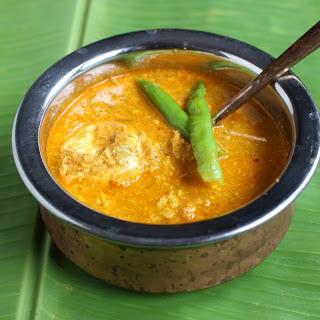 Goan Egg Drop Curry.