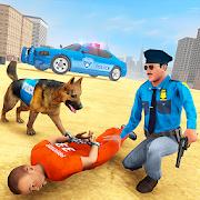 City Police Dog Prison Chase