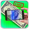 Fake Currency Scanner Prank icon