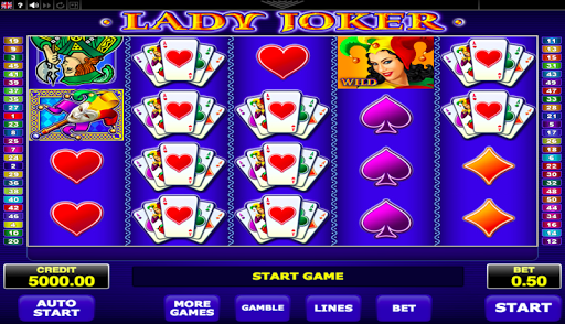 Lady Joker screenshot 1