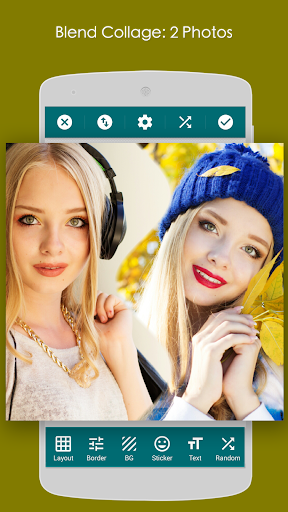 Blend Collage Editor 1.3 screenshots 2