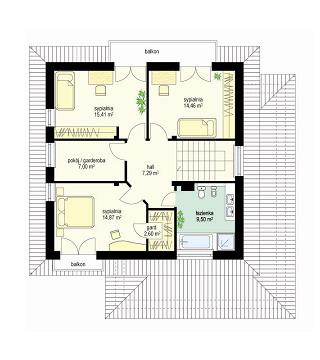Szmaragd - Rzut piętra