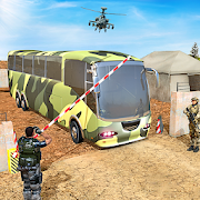 Mountain Army Bus Driving 2019:  GBT Bus Games 3D