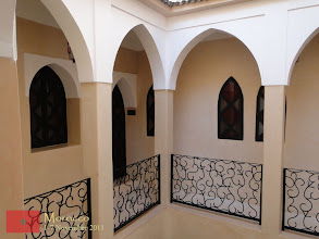Photo: the riad where we stayed in Marrakech