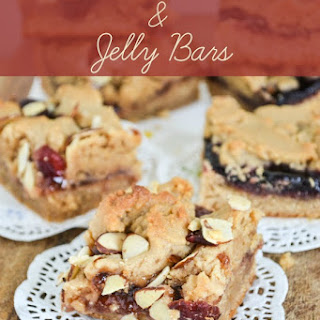 Baking with Karo Syrup | Peanut Butter and Jelly Bars.