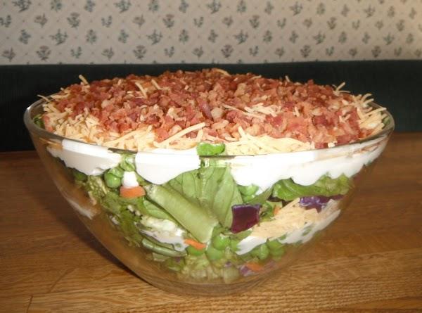 Garden Fresh Layer Salad Recipe