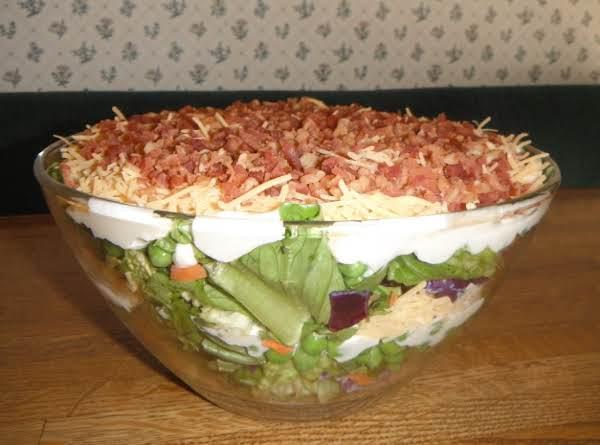 Garden Fresh Layer Salad