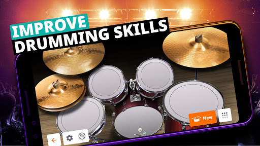 Drum Set Music Games & Drums Kit Simulator screenshot 3