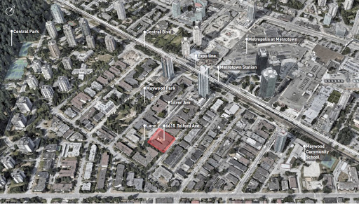 31-Storey Condo Tower Planned for Metrotown Site