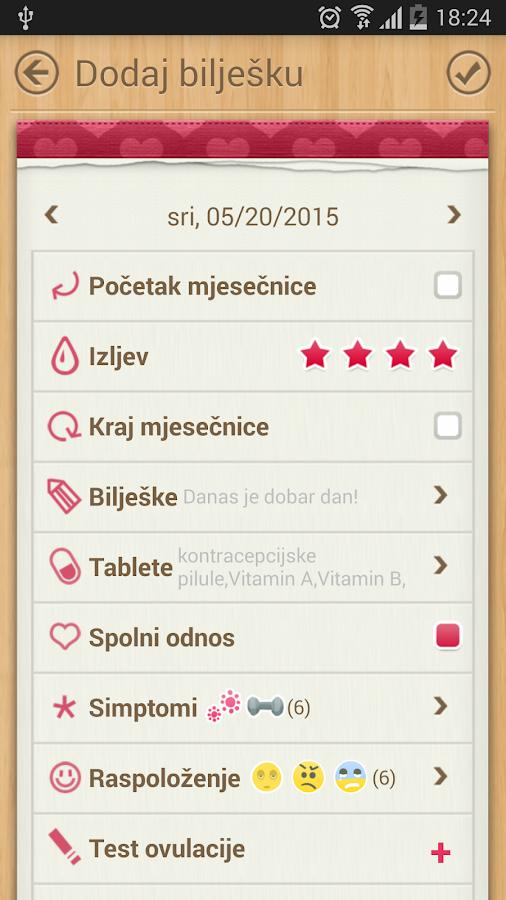 Menstrualni Kalendar - Android aplikacije na Google Playu