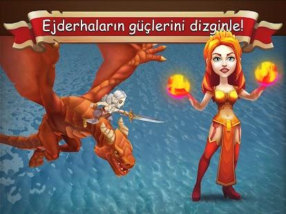 Ejderha Hükümdarlığı 3D Strateji Ekran Görüntüsü