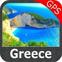 Greece gps nautical charts icon