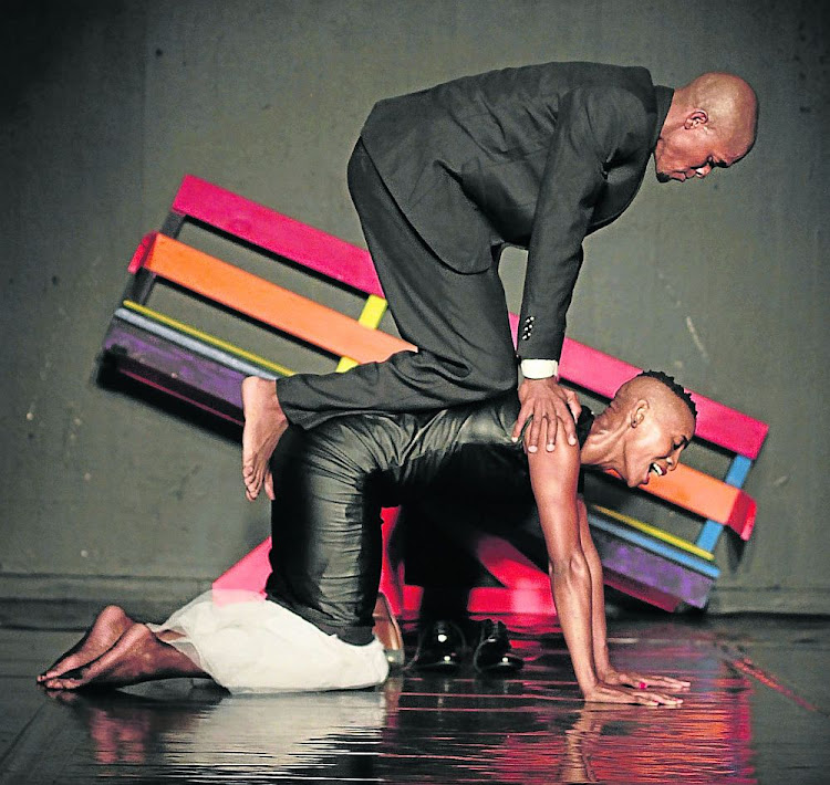 Mamela Nyamza is known for her socially relevant dance ethos