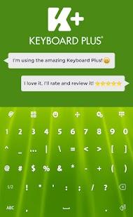 Green Animated Keyboard - náhled