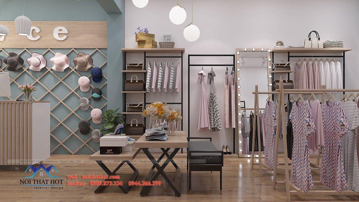 thiết kế shop thời trang nữ 2ce 4