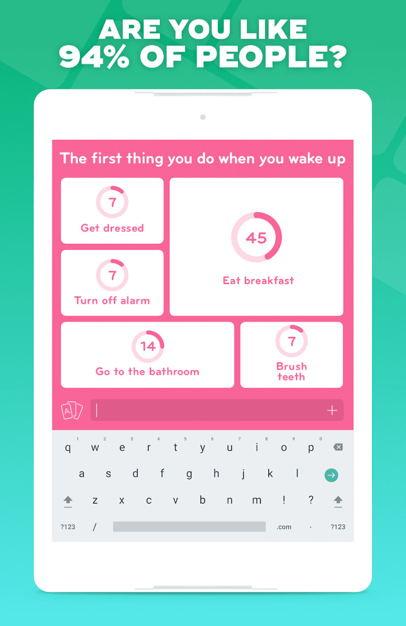 94% - Quiz, Trivia & Logic Screenshot 6