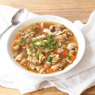 Leftover Turkey Noodle Soup + Best Ever Homemade Broth.