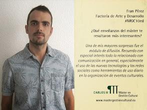 Photo: Fran Pérez Factoría de Arte y Desarrollo @franper3z @factoriarte
