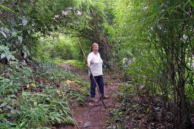 Hiking in Ratanakiri