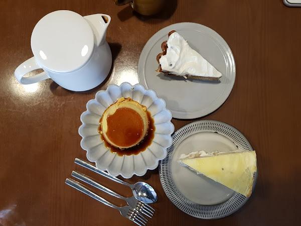 若草。不浮誇不張揚的甜點店,首推夏威夷豆焦糖乳酪塔