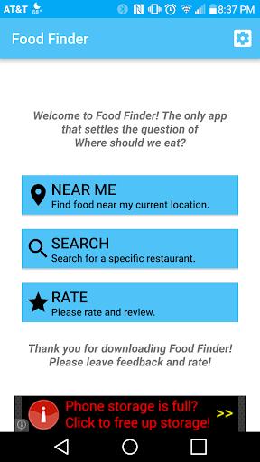 Food Finder Pro