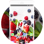 Sweet Strawberry Theme: Fruit Juicy Live Wallpaper Icon