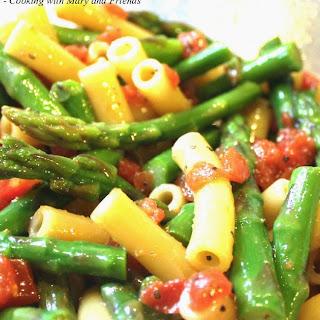 Asparagus & Tomato Pasta Salad