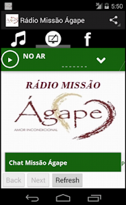 Rádio Missão Ágape screenshot 4