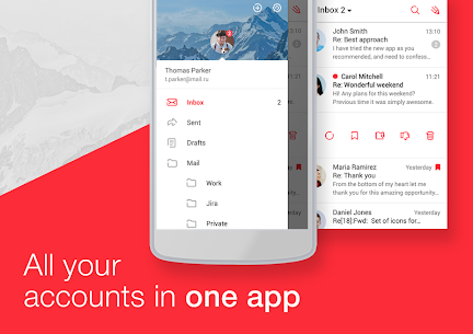 myMail – Email for Hotmail, Gmail and Outlook Mail v7.11.0.25313 APK 2
