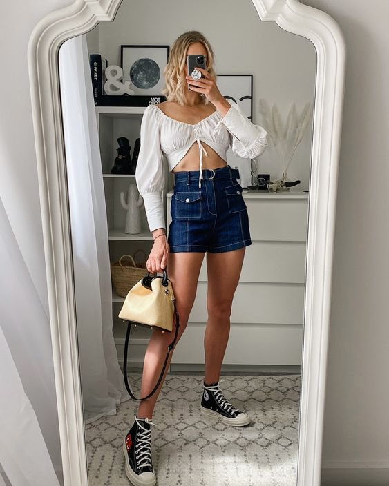converse nữ outfit