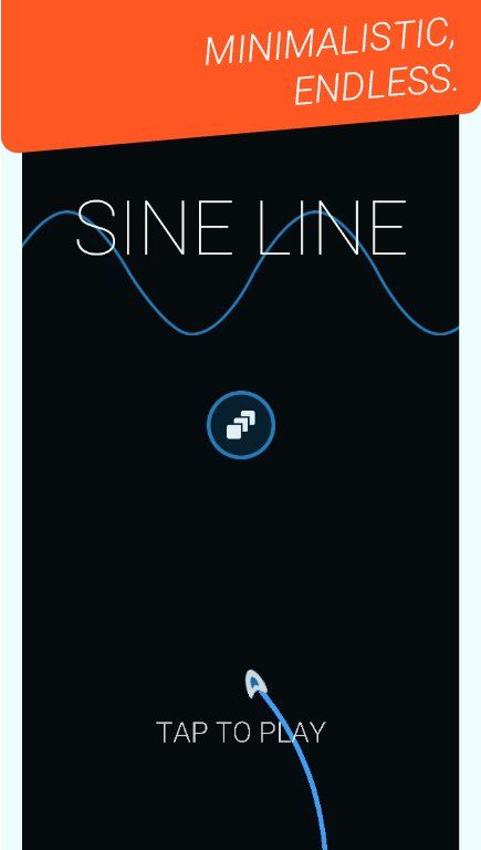 Sine Line- screenshot