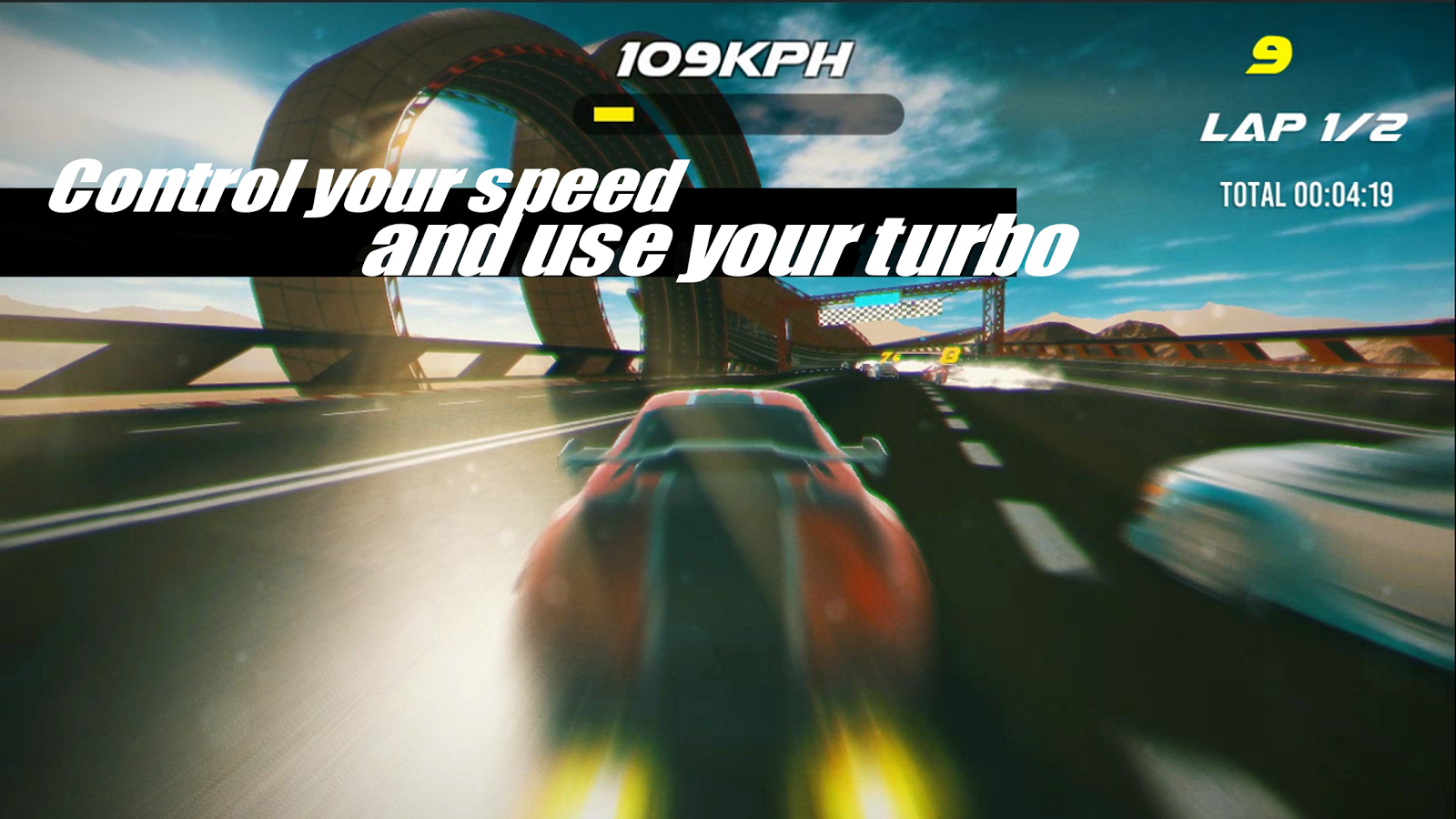 Ace Racing Turbo- screenshot